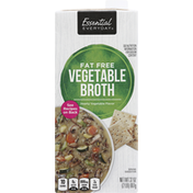 Essential Everyday Broth, Fat Free, Vegetable
