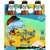 Flying Dog Beer, American Wheat, Chesapeake Wheat