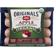 Dietz & Watson Chicken Sausage, Organic, Apple