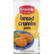 Krasdale Bread Crumbs, Plain