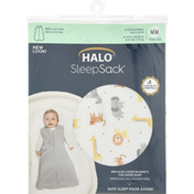 Halo Blanket, Medium, Jungle Print Cotton, 6 to 12 Months