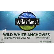 Wild Planet Wild White Anchovies, In Extra Virigin Olive Oil