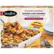 Stouffer's CREATIVE COMFORTS Large Family Size Sausage & Egg Scramble