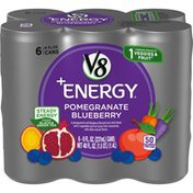 V8 V Fusion + Energy Pomegranate Blueberry Vegetable & Fruit Juice