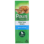 Paws Happy Life Giant Sifting Litter Box Liners