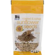 Food Lion Sunflower Seeds, Gluten Free, Roasted & Salted, Pouch