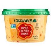 Cedar's Foods Roasted Red Pepper Hommus