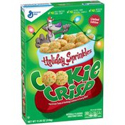 Cookie Crisp Holiday Sprinkles Limited Edition Cereal