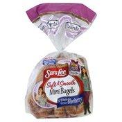Sara Lee Mini Bagels, Whole Grain Blueberry