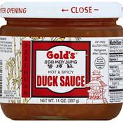 Gold's Duck Sauce, Szechuan, Hot & Spicy