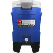 Igloo Beverage Cooler, Sport, Majestic Blue, Roller, 5 Gallons