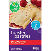 Food Club Toaster Pastries, Strawberry