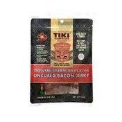 Tiki Hawaiian Gourmet Jerky Tsunami Sriracha Bacon Jerky