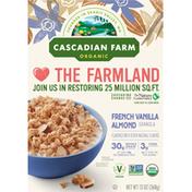 Cascadian Farm Granola, French Vanilla Almond