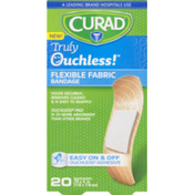 CURAD Truly Ouchless! Flexible Fabric Bandage .75x3in