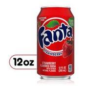 Fanta Strawberry Fruit Soda Soft Drink