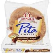 Brownberry/Arnold/Oroweat 100% Whole Wheat Pita Pocket Thins