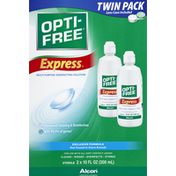 Opti-Free Multi-Purpose Disinfection Solution, Express, Twin Pack