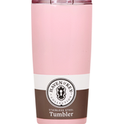 Haven & Key Tumbler, Stainless Steel, Blush, 20 Ounce