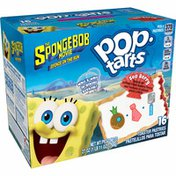 Kellogg's SpongeBob SquarePants Pop-Tarts Breakfast Toaster Pastries, Sea Berry