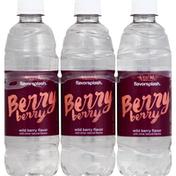 Aquafina Berry Berry Wildberry Water