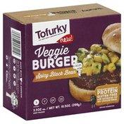Tofurky Veggie Burger, Spicy Black Bean
