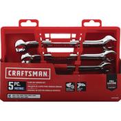 Craftsman Wrench Set, Flare Nut, 5 Piece