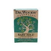 Dr. Woods Soaps Unscented Soothing Baby Mild Soap For Sensitive Skin