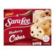 Sara Lee Blueberry Cakes - 7 CT