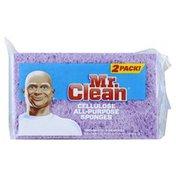 Mr. Clean Sponges, Cellulose, All-Purpose