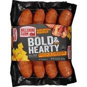 Hillshire Farm Bold & Hearty Smoked Sausage Links, Bacon & Cheddar,