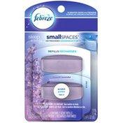 Febreze Small Spaces Febreze SmallSpaces Sleep Serenity Moonlit Lavender Scent Refills Air Freshener (2 Count, 11 mL)  Air Care