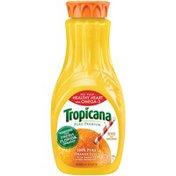 Tropicana No Pulp Healthy Heart with Omega-3 Orange Juice