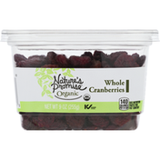 Nature's Promise Organic Whole Cranberries
