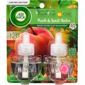 Air Wick Scented Oil Refills, Peach & Sweet Nectar