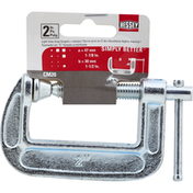 Bessey C-Clamps, Light Duty, Drop Forged, 2 Inches