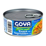 Goya Tuna with Vegetables, in Oil