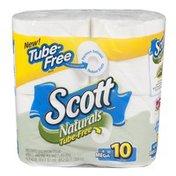 Scott NATURALS Bath Tissue MR WH 4-PK 440