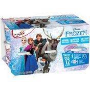 Yoplait Disney Frozen Blueberry Flurry/Cotton Candy Variety Pack Low Fat Yogurt