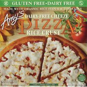 Amy's Kitchen Pizza, Rice Crust, Dairy Free Cheeze