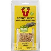 Victor Rodent Repeller, Natural, Mint Scent, 5 Pack