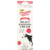 Prairie Farms Whipping Cream, Heavy, Premium