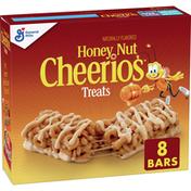 Honey Nut Cheerios Cereal Treat Bars, 8 Count