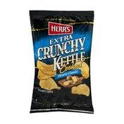 Herr's Extra Crunchy Kettle Cooked Potato Chips Hearty Classic