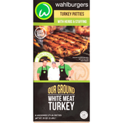 Wahlburgers Turkey Patties, with Herbs & Stuffing