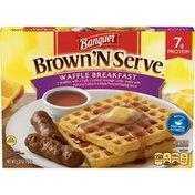 Banquet Brown N Serve Waffle Breakfast