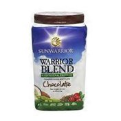 Sunwarrior Warrior Blend Plant-Based Protein Powder Dietary Supplement, Chocolate