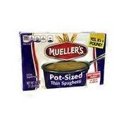 Mueller's Thin Spaghetti, Pot-Sized