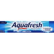 Aquafresh Toothpaste, Fluoride, Extra Fresh
