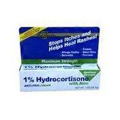 Best Choice 1% Hydrocortisone Anti-Itch Cream With Aloe